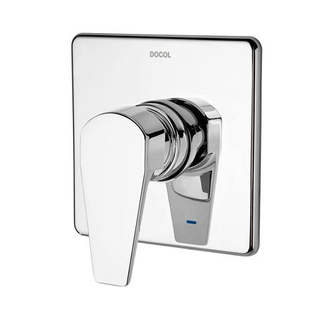 """Acabamento Monocomando Docol Lift para Chuveiro 3/4"""" Baixa Pressão Cromado - 00805606"""