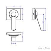 Acabamento Válvula de Descarga Kit Conversor Hydra Max para Hydra conforto Cromado - 4916.C.112.CONF