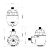 Aquecedor Elétrico Lorenzentti Maxi Ultra 5500w 220v - 7560046