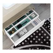 Armário de Banheiro 1 Gaveta Bumi Blu Max 80cm Wood - 3900403
