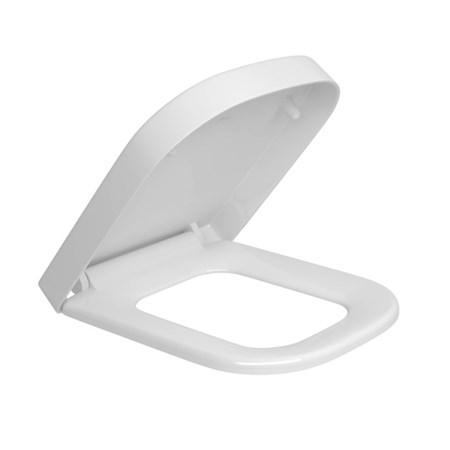 Assento Sanitário Deca Piano / Quadra Termofixo Slow Close Fechamento Suave Branco - AP.336.17