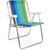 Cadeira Alta Alumínio 2101 Mor