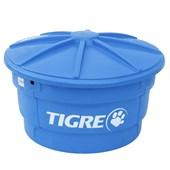 Caixa d'Água 310 Litros Tigre Redonda com Tampa - 22993119