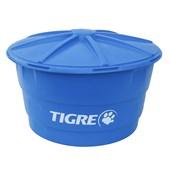 Caixa d'Água 500 Litros Tigre Redonda com Tampa V4 - 100017470