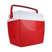 Caixa Térmica 34 Litros Vermelha Mor
