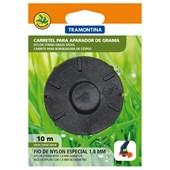 Carretel 2 Fios de Nylon 1,8 mm Tramontina para Aparador de Grama com 10 m de Comprimento