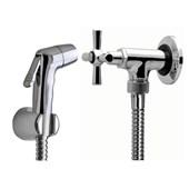 Ducha Higienica manual c/registro e flexivel metálico soft Golmax