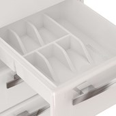 Gabinete de Cozinha em Aço Cozimax Venus Flat 120cm Branco - 87632