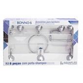 Kit Acessórios Aquaplas Bonno 6pc