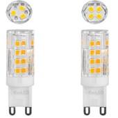 Lâmpada LED 4W Bipino G9 127v 2700K - Evoled