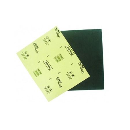 Lixa d'água 22,5x27,5cm gramatura preta 180 Norton