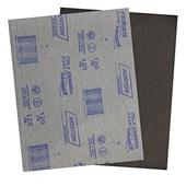 Lixa para ferro 22,5x27,5cm gramatura preta 120 Norton