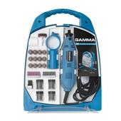 Micro Retifica Gamma Kit com Maleta e 252 Acessórios 130w 127v - G19502/BR1
