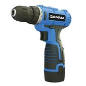 Parafusadeira e Furadeira de Impacto Gamma com Maleta Bateria 12v Bivolt - G12101/BR