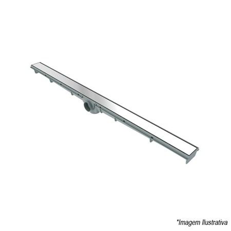Ralo Linear 90cm Flat Com Grelha Inox - Tigre
