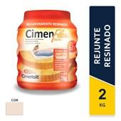 Rejunte Resinado Cimenflex 2kg Bege Cimentolit