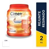 Rejunte Resinado Cimenflex 2kg Branco Cimentolit