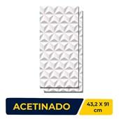 Revestimento 43.2x91cm Caixa 1,96m² 5002974 Nuance Piramide Ceusa